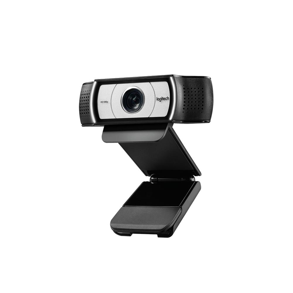 A large main feature product image of Logitech C930e HD Webcam