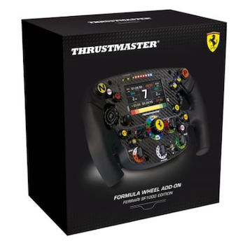 Product image of Thrustmaster Formula Wheel Add-On Ferrari SF1000 Edition - Click for product page of Thrustmaster Formula Wheel Add-On Ferrari SF1000 Edition