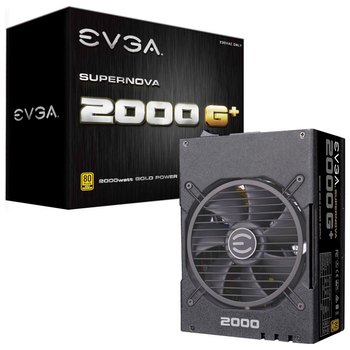 Product image of eVGA SuperNOVA G1+ 2000W Fully Modular 80PLUS Gold Power Supply - Click for product page of eVGA SuperNOVA G1+ 2000W Fully Modular 80PLUS Gold Power Supply