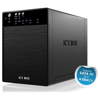 Product image of ICY BOX IB-3640SU3 External 4 Bay Enclosure - Click for product page of ICY BOX IB-3640SU3 External 4 Bay Enclosure