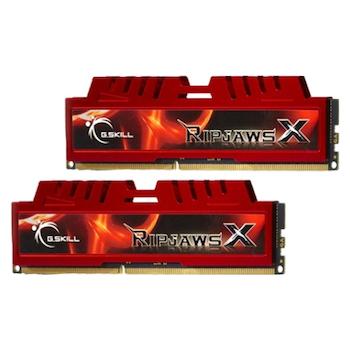 Product image of G.Skill 8GB Kit (2x4GB) DDR3 Ripjaws X C9 1600MHz - Click for product page of G.Skill 8GB Kit (2x4GB) DDR3 Ripjaws X C9 1600MHz