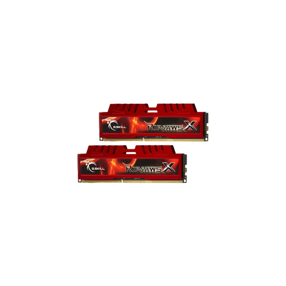 A large main feature product image of G.Skill 8GB Kit (2x4GB) DDR3 Ripjaws X C9 1600MHz
