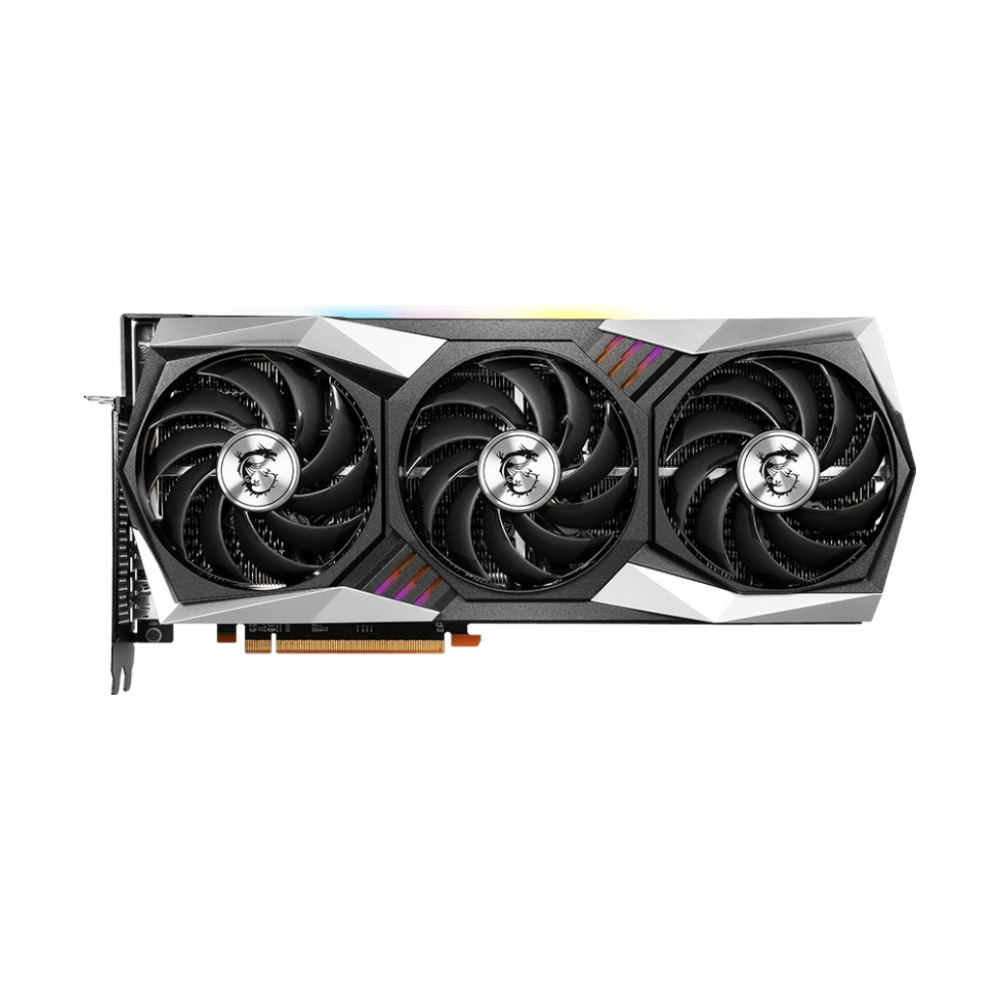 A large main feature product image of MSI Radeon RX 6900 XT Gaming Z Trio 16GB GDDR6