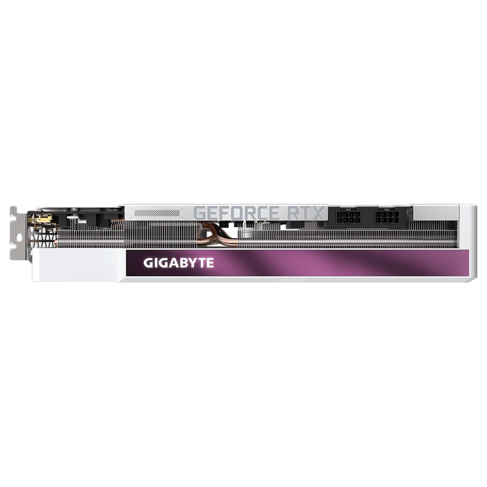 A large main feature product image of Gigabyte GeForce RTX 3070 Ti Vision OC 8GB GDDR6X