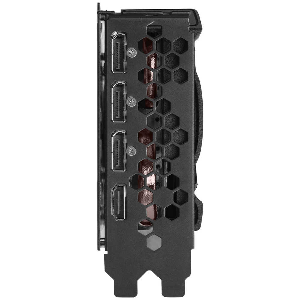 A large main feature product image of eVGA GeForce RTX 3070 Ti XC3 Ultra 8GB GDDR6X