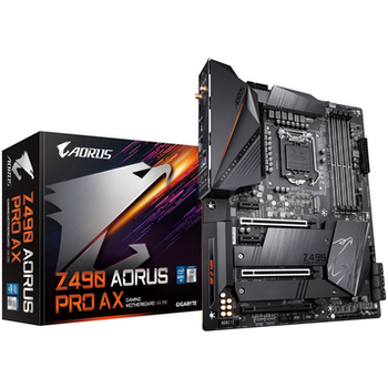 Product image of EX-DEMO Gigabyte Z490 Aorus Pro AX LGA1200 ATX Desktop Motherboard - Click for product page of EX-DEMO Gigabyte Z490 Aorus Pro AX LGA1200 ATX Desktop Motherboard