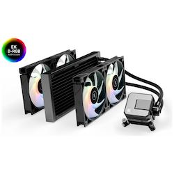 Product image of EK AIO 280 Elite D-RGB AIO Liquid CPU Cooler - Click for product page of EK AIO 280 Elite D-RGB AIO Liquid CPU Cooler