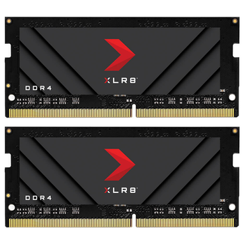 Product image of EX-DEMO PNY 32GB (2x16GB) XLR8 Gaming DDR4 3200MHz Notebook Memory - Click for product page of EX-DEMO PNY 32GB (2x16GB) XLR8 Gaming DDR4 3200MHz Notebook Memory