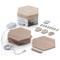 A small tile product image of NANOLEAF Elements Wood Look Starter Pack - 7 Pack