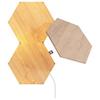 A product image of NANOLEAF Elements Wood Look Starter Pack - 3 Pack
