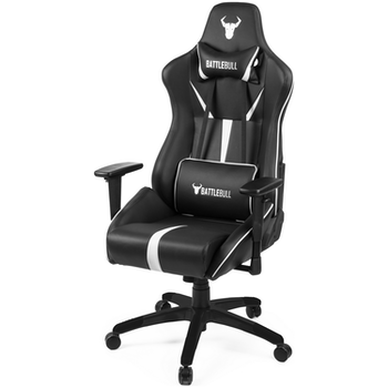 Product image of BattleBull Arrow Gaming Chair Black/White - Click for product page of BattleBull Arrow Gaming Chair Black/White