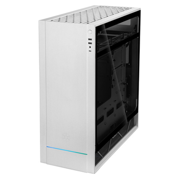 Product image of Silverstone ALTA F1 ATX Mid Tower Case w/ Tempered Glass Side Panel - White  - Click for product page of Silverstone ALTA F1 ATX Mid Tower Case w/ Tempered Glass Side Panel - White