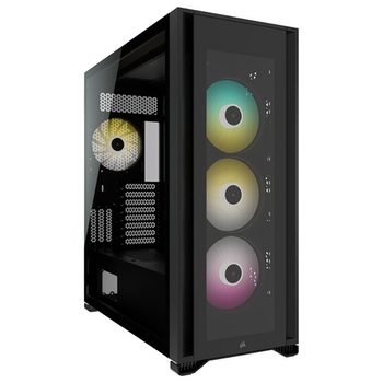 Product image of Corsair iCUE 7000X RGB ATX Full Tower Case - Black - Click for product page of Corsair iCUE 7000X RGB ATX Full Tower Case - Black