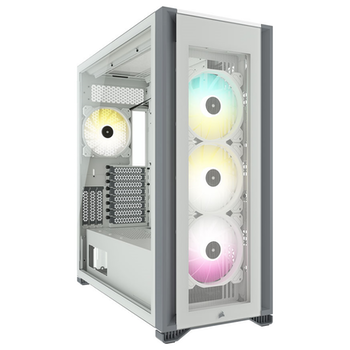 Product image of Corsair iCUE 7000X RGB ATX Full Tower Case - White - Click for product page of Corsair iCUE 7000X RGB ATX Full Tower Case - White