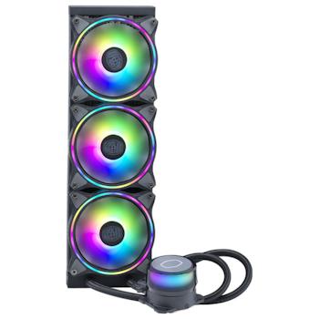 Product image of Cooler Master MasterLiquid ML360 Illusion Addressable RGB AIO Liquid CPU Cooler - Click for product page of Cooler Master MasterLiquid ML360 Illusion Addressable RGB AIO Liquid CPU Cooler