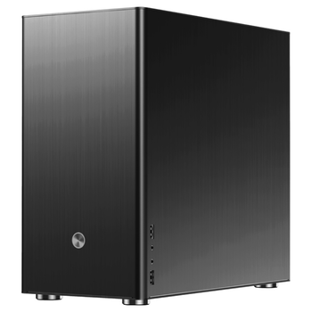 Product image of Jonsbo V9 Black mATX Case with Tempered Glass Window - Click for product page of Jonsbo V9 Black mATX Case with Tempered Glass Window