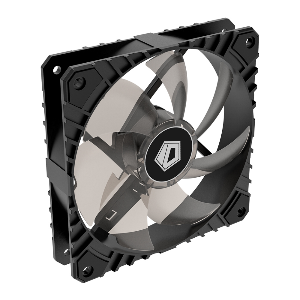 A large main feature product image of ID-COOLING WF Series 120mm Anti-Vibration High Airflow Case Fan
