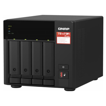 Product image of QNAP TS-473A-4G 2.2GHz 4GB 4 Bay NAS Enclosure - Click for product page of QNAP TS-473A-4G 2.2GHz 4GB 4 Bay NAS Enclosure
