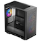A small tile product image of Deepcool Matrexx 40 3FS Black mATX Mid Tower Case w/ Tempered Glass Side Panel