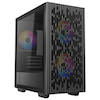 A product image of Deepcool Matrexx 40 3FS Black mATX Mid Tower Case w/ Tempered Glass Side Panel