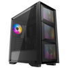 A product image of Deepcool Matrexx 50 Mesh 4FS RGB Mid Tower Black Case