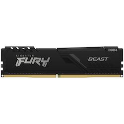 Product image of Kingston 16GB Kit (2x8GB) DDR4 Fury Beast C16 2666MHz - Click for product page of Kingston 16GB Kit (2x8GB) DDR4 Fury Beast C16 2666MHz