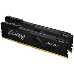 Product image of Kingston 32GB Kit (2x16GB) DDR4 Fury Beast C16 2666MHz - Click for product page of Kingston 32GB Kit (2x16GB) DDR4 Fury Beast C16 2666MHz