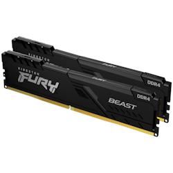 Product image of Kingston 32GB Kit (2x16GB) DDR4 Fury Beast C16 3200MHz - Click for product page of Kingston 32GB Kit (2x16GB) DDR4 Fury Beast C16 3200MHz
