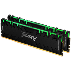 Product image of Kingston 16GB Kit (2x8GB) DDR4 Fury Renagade RGB C19 4600Mhz - Click for product page of Kingston 16GB Kit (2x8GB) DDR4 Fury Renagade RGB C19 4600Mhz