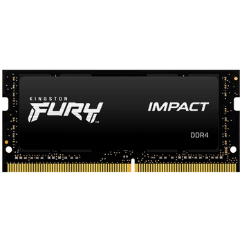 Product image of Kingston 64GB Kit (2x32GB) Fury Impact SO-DIMM C15 2666Mhz - Click for product page of Kingston 64GB Kit (2x32GB) Fury Impact SO-DIMM C15 2666Mhz