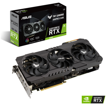 Product image of ASUS GeForce RTX 3080 TUF Gaming OC LHR 10GB GDDR6X - Click for product page of ASUS GeForce RTX 3080 TUF Gaming OC LHR 10GB GDDR6X
