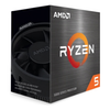 A product image of AMD Ryzen 5 5600G 6 Core 12 Thread Up To 4.4Ghz AM4 APU Retail Box - With Wraith Stealth Cooler