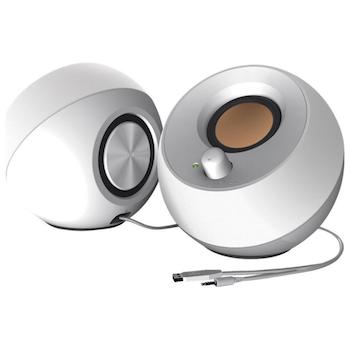 Product image of Creative Pebble 2.0 Speaker USB - White - Click for product page of Creative Pebble 2.0 Speaker USB - White