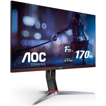 "Product image of AOC Q27G2S/D 27"" QHD G-SYNC-C 170Hz 1ms HDR400 IPS LED Gaming Monitor - Click for product page of AOC Q27G2S/D 27"" QHD G-SYNC-C 170Hz 1ms HDR400 IPS LED Gaming Monitor"