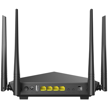 Product image of Tenda V12 AC1200 Dualband Wi-Fi Gigabit VDSL/ADSL Modem Router - Click for product page of Tenda V12 AC1200 Dualband Wi-Fi Gigabit VDSL/ADSL Modem Router