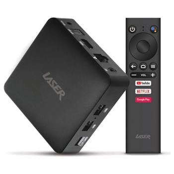 Product image of Laser AGT419 Android Smart 4K TV Box - Click for product page of Laser AGT419 Android Smart 4K TV Box