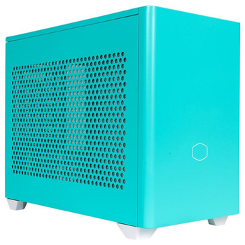 Product image of Cooler Master MasterBox NR200P mITX Case - Caribbean Blue - Click for product page of Cooler Master MasterBox NR200P mITX Case - Caribbean Blue
