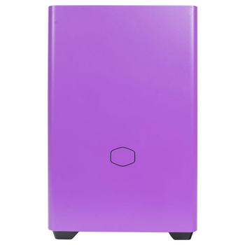 Product image of Cooler Master MasterBox NR200P mITX Case - Nightshade Purple - Click for product page of Cooler Master MasterBox NR200P mITX Case - Nightshade Purple
