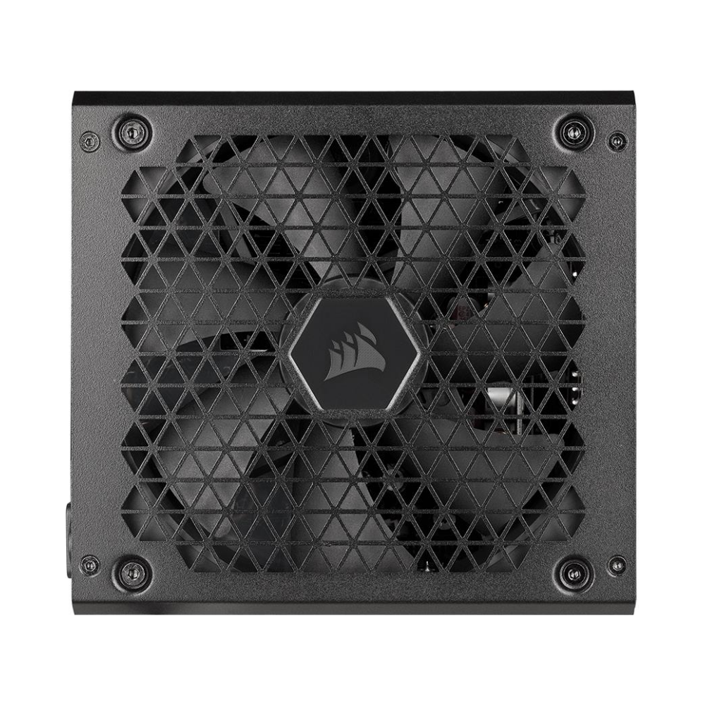 A large main feature product image of Corsair RM650 2021 650W 80Plus Gold Modular Power Supply