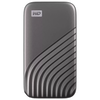 A product image of WD My Passport 500GB Portable SSD - Grey