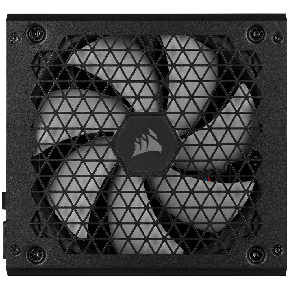 A large main feature product image of Corsair RM550x 2021 550W 80PLUS Gold Modular Power Supply