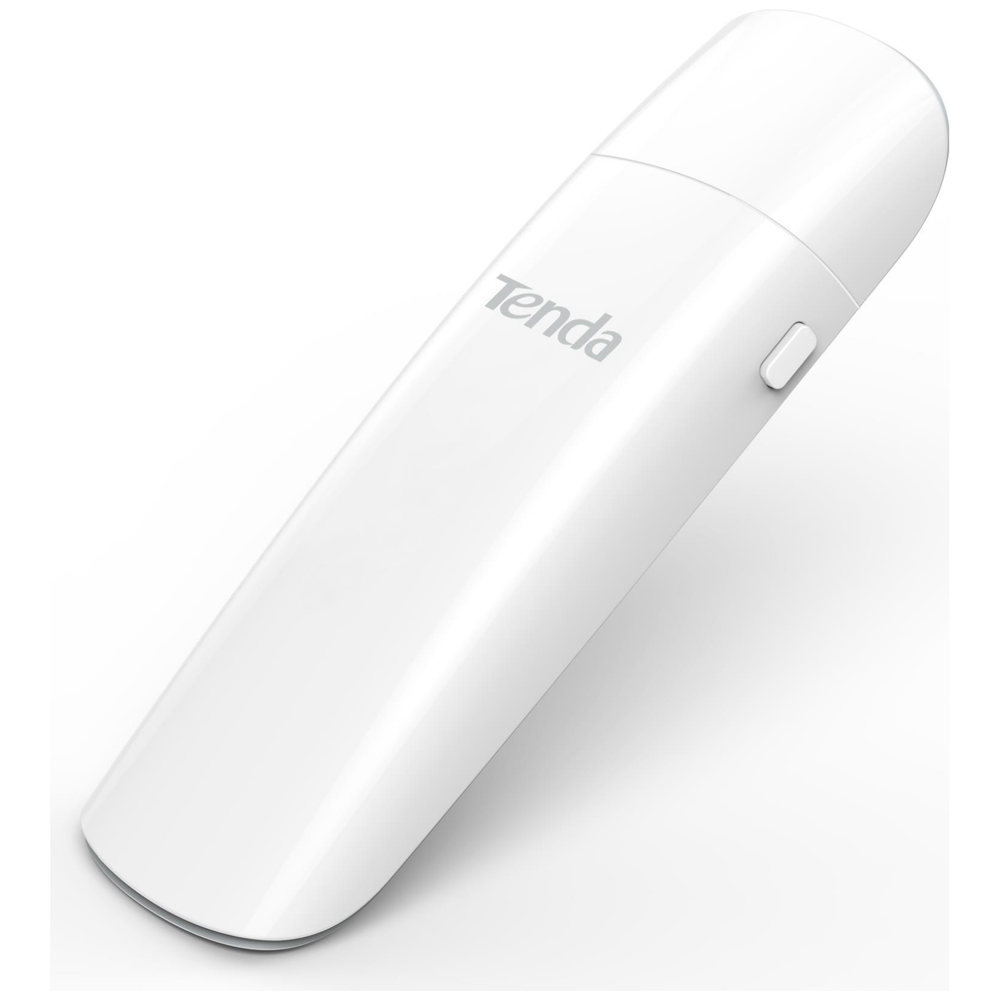 A large main feature product image of Tenda U12 AC1300 Wireless Network Adapter