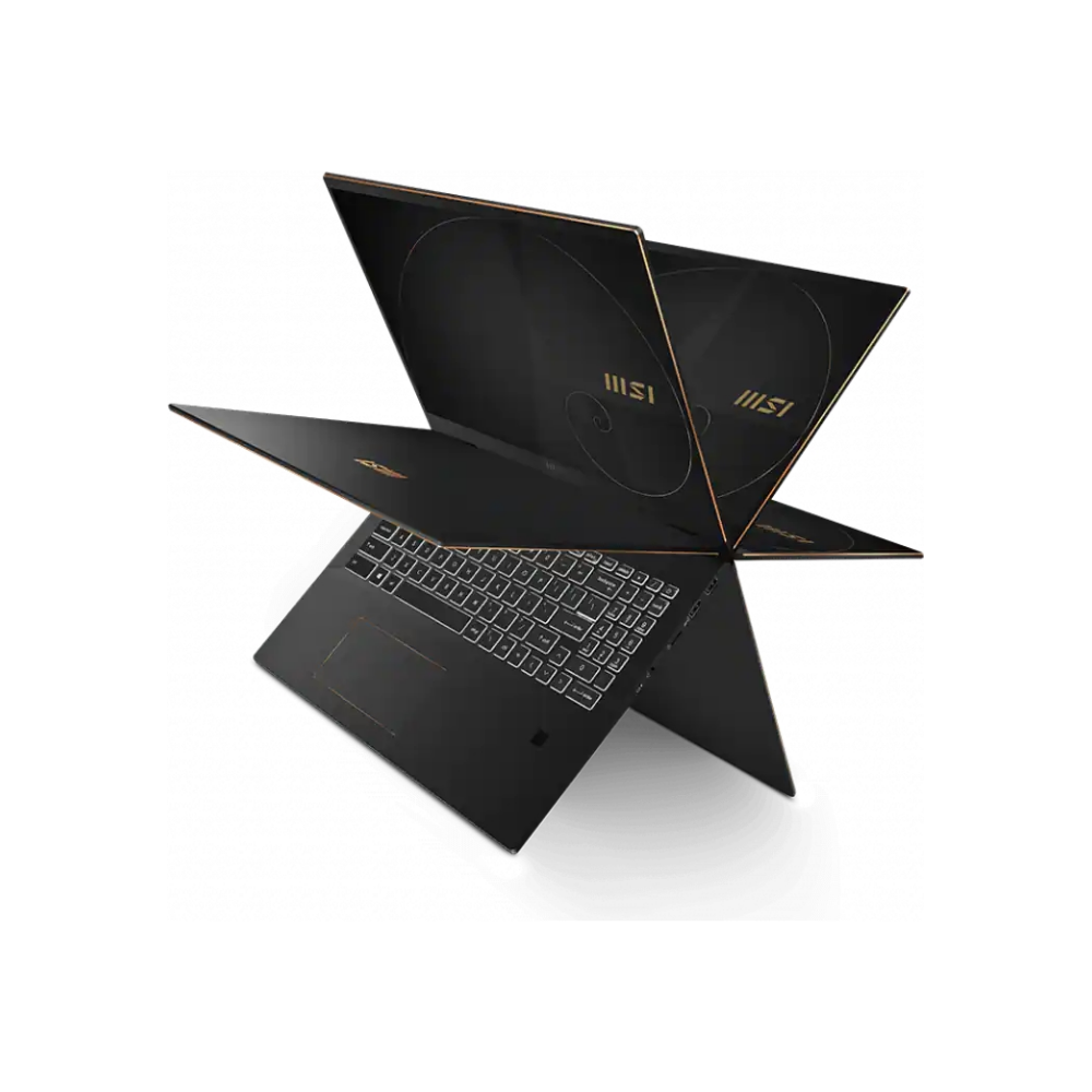 """A large main feature product image of MSI Summit E16 Flip A11UCT 16"""" RTX 3050 Windows 10 Pro Notebook"""