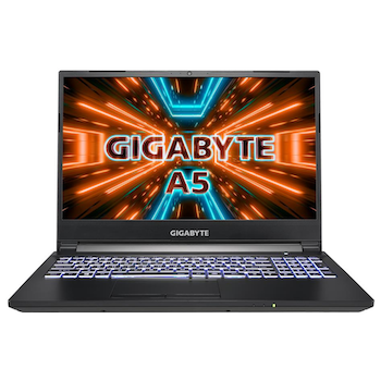 """Product image of Gigabyte A5 X1 15.6"""" Ryzen 9 RTX 3070P Windows 10 Gaming Notebook - Click for product page of Gigabyte A5 X1 15.6"""" Ryzen 9 RTX 3070P Windows 10 Gaming Notebook"""