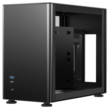 Product image of Jonsbo A4 Black mITX Case w/Tempered Glass Side Panel - Click for product page of Jonsbo A4 Black mITX Case w/Tempered Glass Side Panel