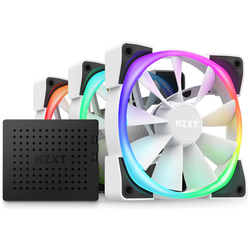 Product image of NZXT Aer RGB 2 - 120mm Triple Pack - White - Click for product page of NZXT Aer RGB 2 - 120mm Triple Pack - White