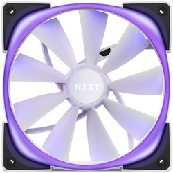 Product image of NZXT Aer RGB 2 - 140mm Twin Pack - White - Click for product page of NZXT Aer RGB 2 - 140mm Twin Pack - White