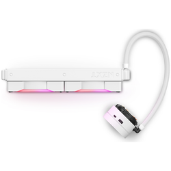 Product image of NZXT Kraken X63 RGB 280mm AIO Liquid CPU Cooler - White - Click for product page of NZXT Kraken X63 RGB 280mm AIO Liquid CPU Cooler - White