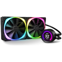 Product image of NZXT Kraken Z63 RGB 280mm AIO Liquid CPU Cooler - Click for product page of NZXT Kraken Z63 RGB 280mm AIO Liquid CPU Cooler