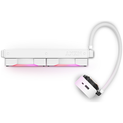 Product image of NZXT Kraken Z63 RGB 280mm AIO Liquid CPU Cooler - White - Click for product page of NZXT Kraken Z63 RGB 280mm AIO Liquid CPU Cooler - White